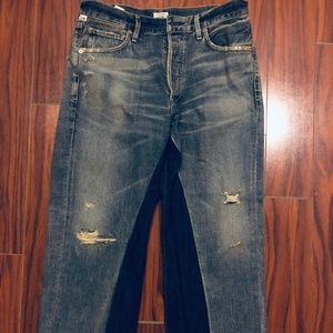 CITIZENS OF HUMANITY crop jeans(new without tag)